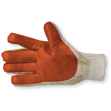 Gants latex orange